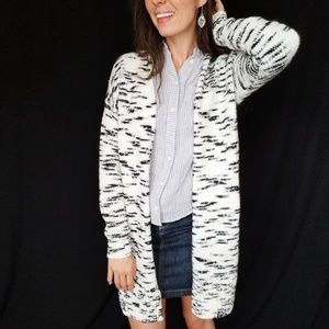 LOFT long sweater cardigan small -E7